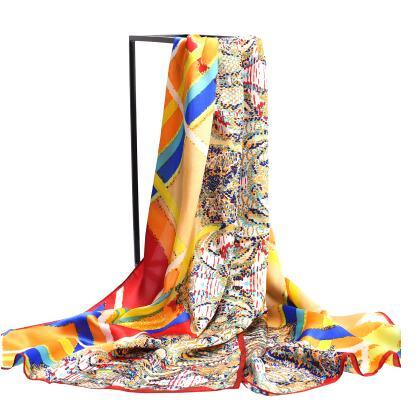 new pattern 100% printed silk scarves silk Long women scarf high-grade brand designer chinese style digital printing shawls-b211(China (Mainland))
