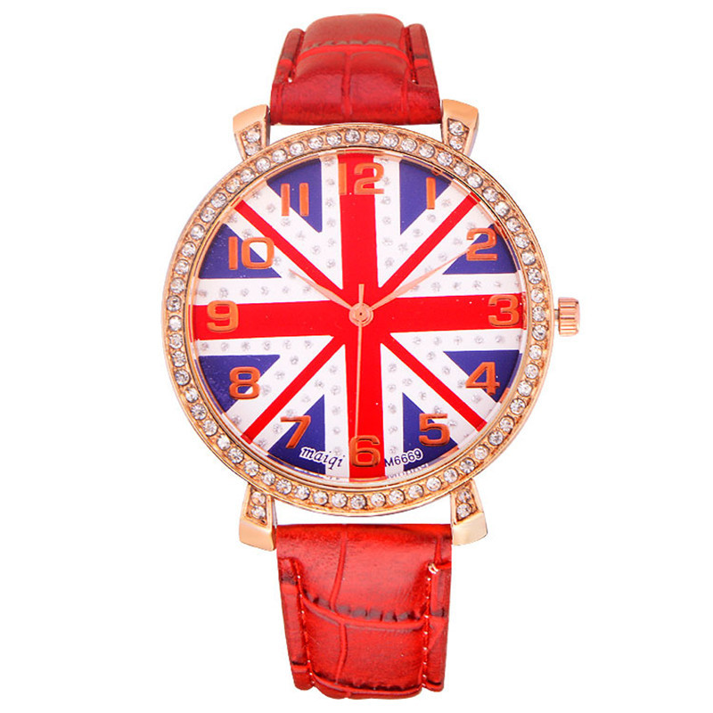 2015 PU Leather Quartz Casual Dress Watches Luxury Golden Women's Watch Cheapest Fashion Relogio Gift - Meaning even Mandy store