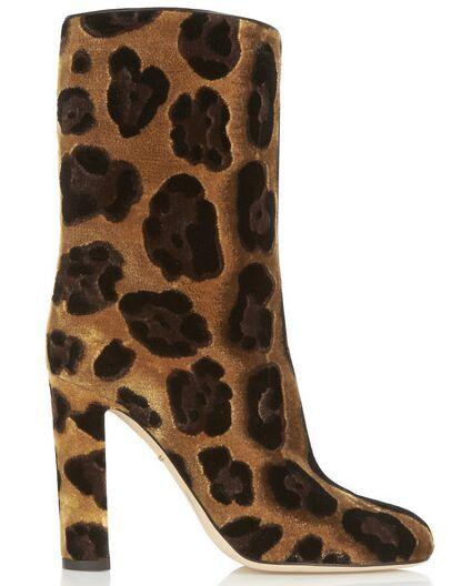 Здесь можно купить  2015 New Fashion Hot Sales Small Flowers Studded Flock Mid-Calf Women Boots Square heel High Heels Slip On Women Shoes Botas  Обувь