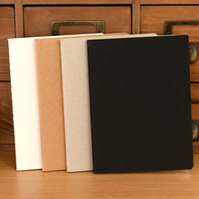 FREE SHIPPING 1PCS Business Stationery School Sketchbook Paper Notepad Thick Book Diary Notebook