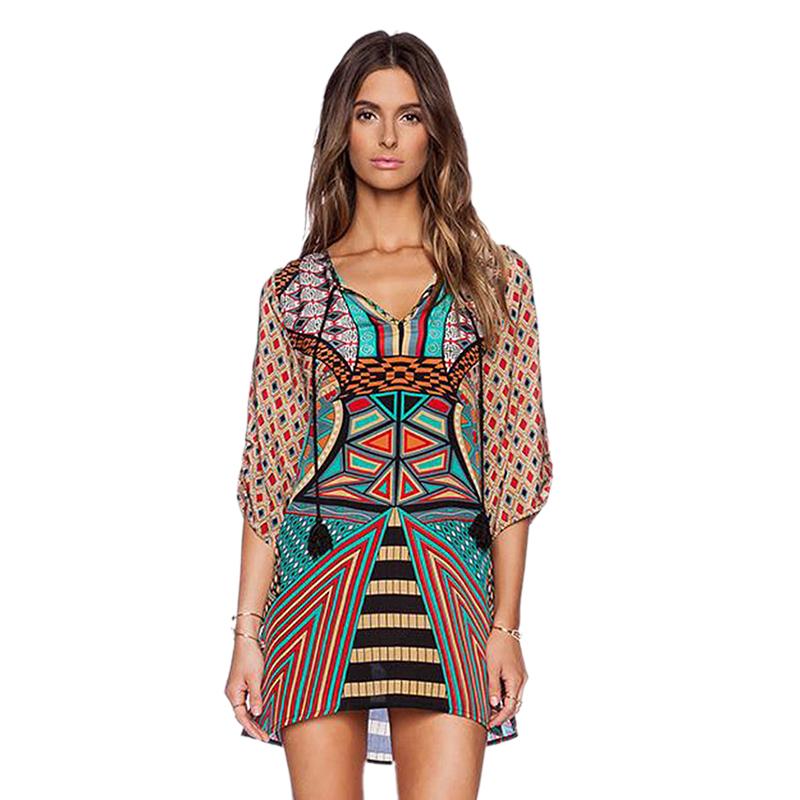 Online kopen Wholesale boho etnische kleding uit China boho ...