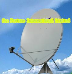 satellite TV dish antenna/ Ku Band Offset 180cm 70 inch Satellite TV Dish offset antenna ,Drop Shipping(China (Mainland))