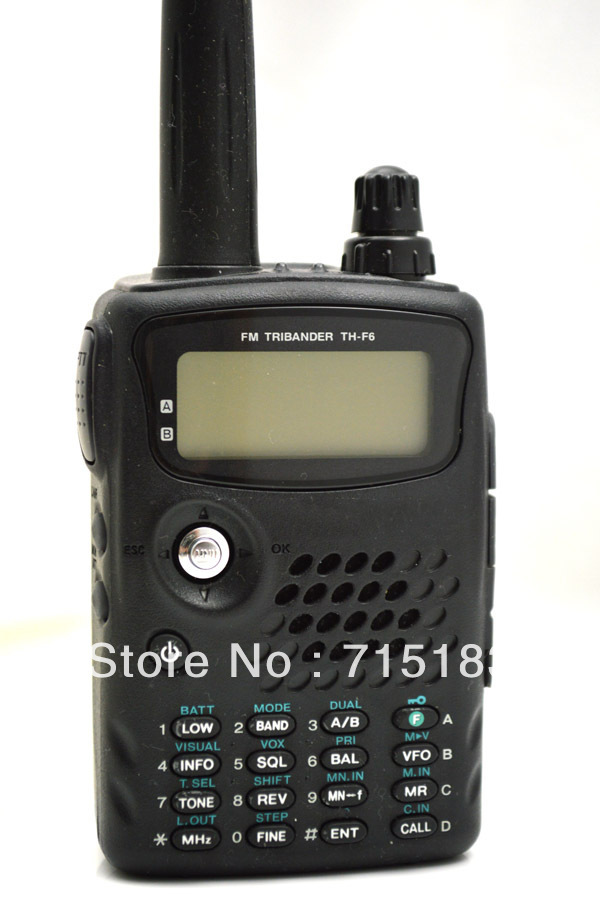 100% Brand New TH-F6A FM Tribander 144/220/440MHz Compact Transceiver/Receiver(China (Mainland))