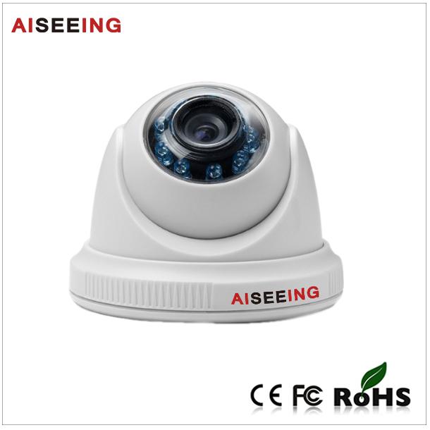 Support 3D noise reduction Color CMOS sensor Dome IR cut HDCIV Analog Camera