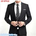 Jacket Pant Tie Men Buisness Suit Sets Slim Fit Tuxedo Formal Fashion Dress Suits Blazer