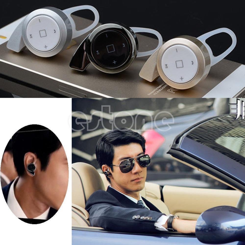 Гаджет  Free shipping New Mini Stereo Bluetooth V4.0 Wireless Snail Headset In-Ear Earbud Earphone-J117 None Бытовая электроника