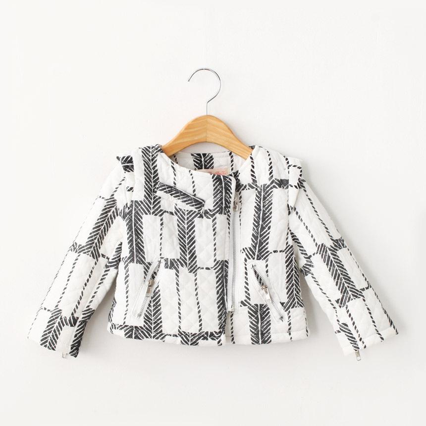 Baby Girls Zipper Cotton Jackets Kids Girl Fall Fashion Outwears 2015 Girl Stylish Cardigan babies children clothes<br><br>Aliexpress