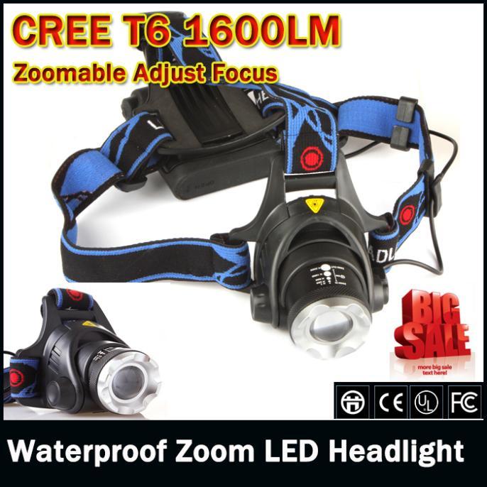 Налобный фонарь 1600Lm XML T6 CREE 506 налобный фонарь sunree l40 ipx8 4led