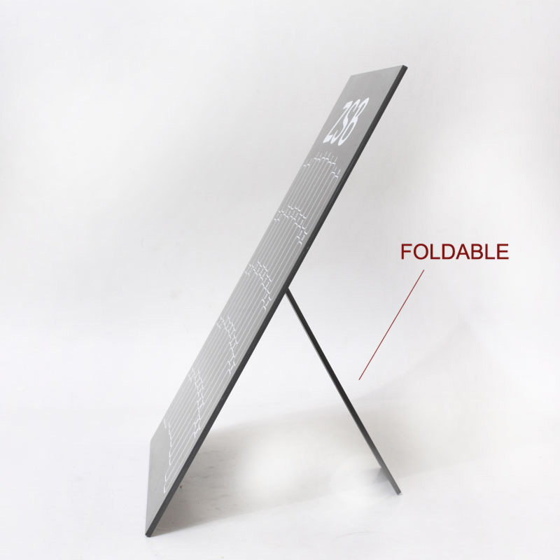 WALL MOUNTED DISPLAY BOARD NAIL ART STAND WITH FOLDABLE FUNCTION FOR SALON FREE SHIP  -  DOUDOU ART store