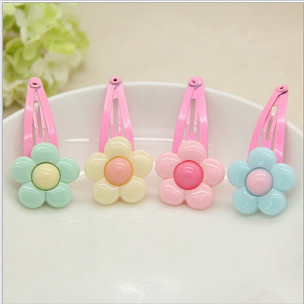 kids Baby accessories children Girls jewelry baby headwear hair clips 2 pieces a pack HP16(China (Mainland))