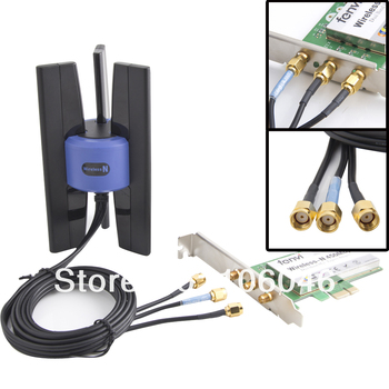 2015 NEW Linksys Wireless-N Antenna 3 SMA for Wifi Router PCI AP free shipping