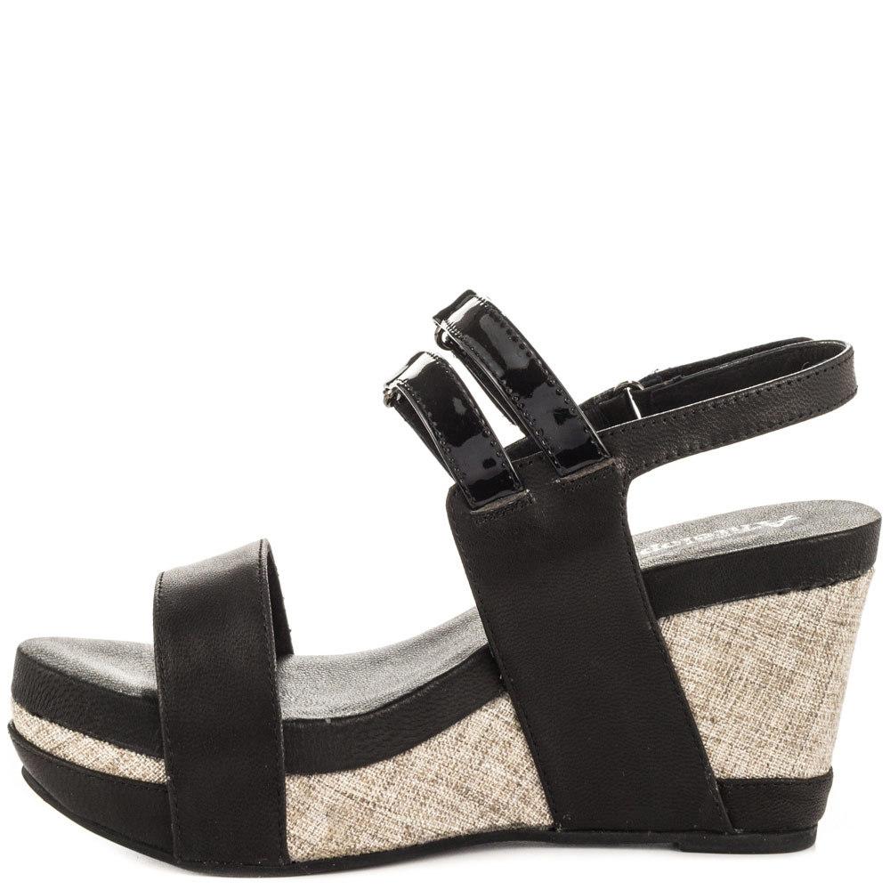Black Thick Platform Women Sandal Open Toe Sandals for Women 2015 Chaussures Compensees Rubber Sandals Thick Heel Shoes<br>