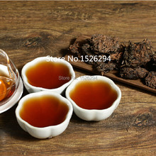 250g  Mellow Taste,old year MengHai LaoCha Tou,loose puer tea, Ripe Puerh Tea, Free Shipping