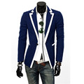 2015 New Arrival Fashion Sale men blazer Classical edge suit men suit jacket 3 Colors Size