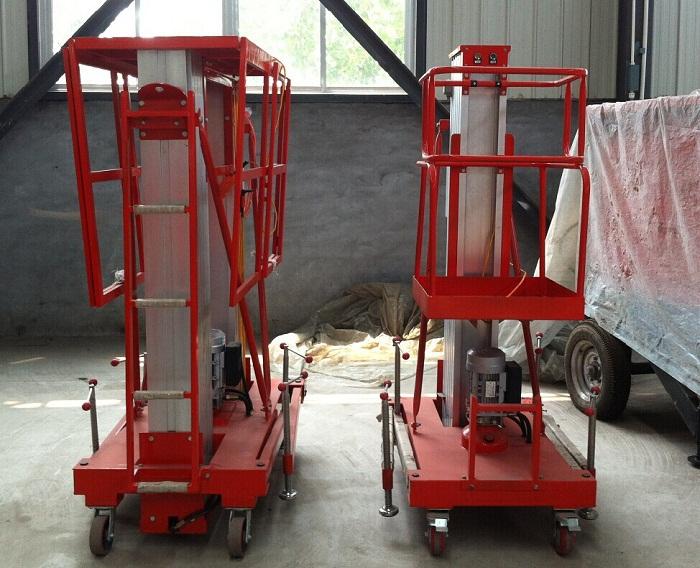 Low price YBC0.2-10 Two-mast Aluminium Lift Table(China (Mainland))