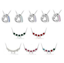 DHL Free Shippng Mixed Colours 2365pcs Rhinestone Crystal Necklace (ONLY VALID BEFORE CONTACTING US)(China (Mainland))