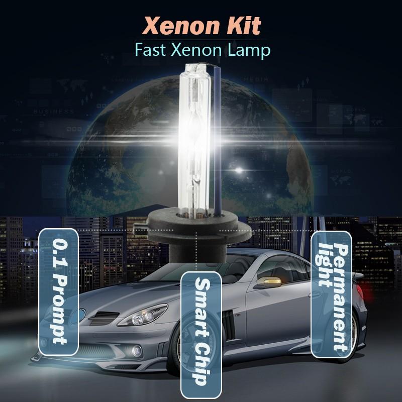 Купить 55 Вт Xenon HID Kit Лампы Балласт 3000 К-15000 К DC (1 Пара Балласт + 1 Пара Лампы) автомобиль Фар Головного Света Для VW Golf 2000-2006