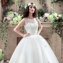 Newly arrived variety Princess Wedding Dress lace lace up the beading bridal gown all size bridal dresses vestido de noiva 778(China (Mainland))