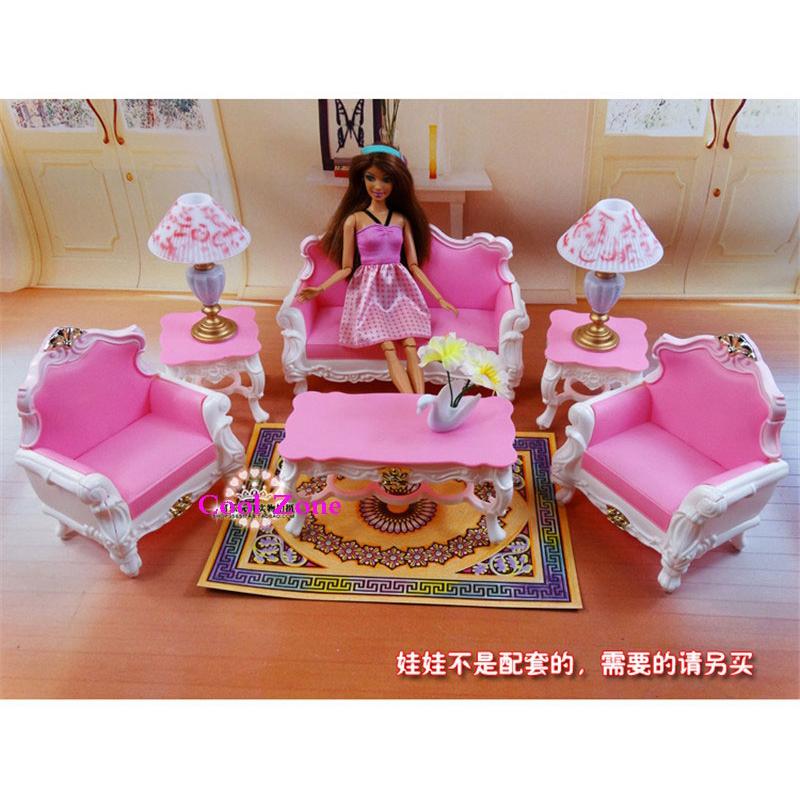 Promo o de barbie sala de estar disconto promocional em for Sala de estar barbie