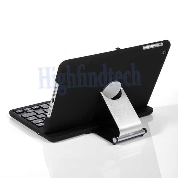 New 360 Degree Rotatable Swivel Wireless Keyboard With Bluetooth Stand Case For Apple iPad Mini , Mini 2 keyboard