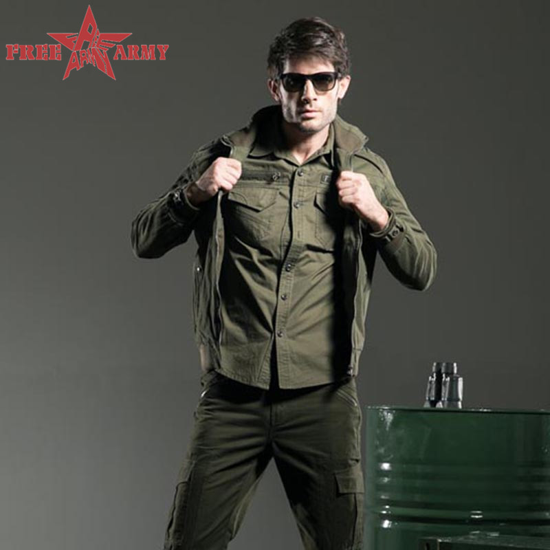Outdoor Men Jacket Military Clothing Hardshell Hunting Clothes Army Green Windbreaker For Men Jackets And Coats Ms-6188A(China (Mainland))