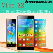 Original Lenovo Vibe X2 smart phone 5.0 inch IPS HD 4G FDD LTE MTK6595 Octa Core 2GB RAM 32GB ROM 13MP Android 4.4  cell phone(China (Mainland))