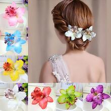 Barrette Flower Hairband Bridal Bohemia Hair Clip Wedding Party Decoration Hairwear Beach Hair Accessories