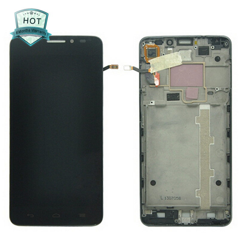 Original LCD Display +digitizer touch Screen FOR Alcatel One Touch Idol X OT6040 6040 6040D 6040E 6040A frame Assembly