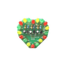 1Pcs Cycle Lamp Suite LED Electronic Production DIY Kits(China (Mainland))