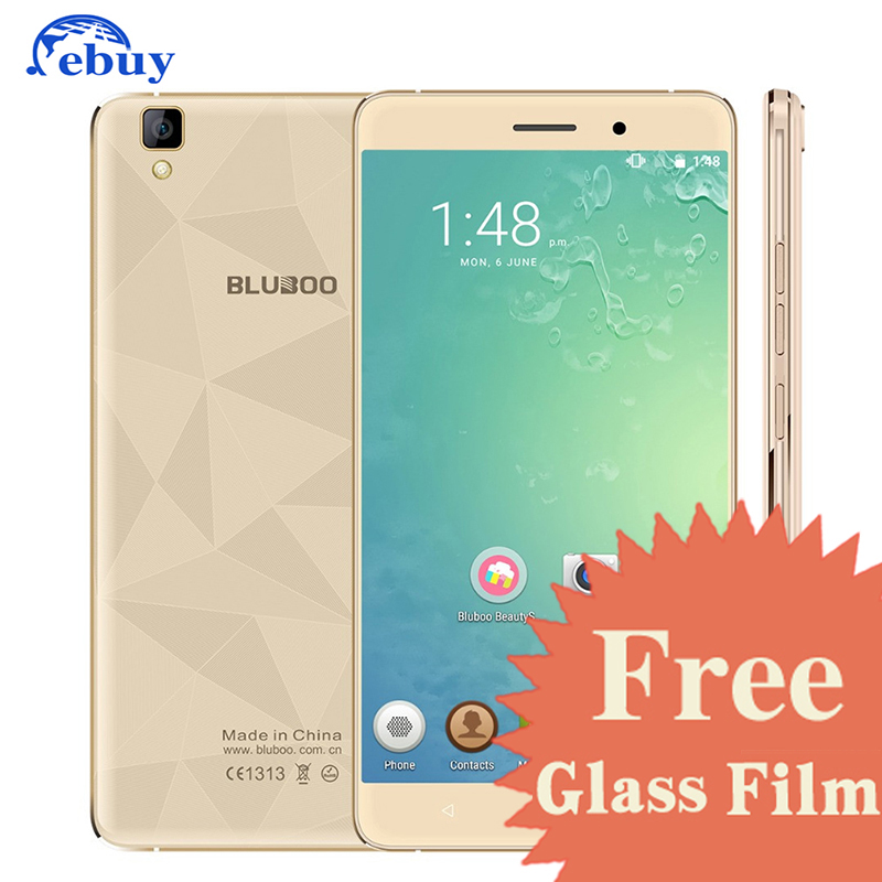 Original Bluboo Maya Mobile Phone MT6580A Android 6.0 Quad Core 5.5 inch 1.3GHz 2GB RAM+16GB ROM 13.0MP+8.0MP 1280*720 3000mAh(China (Mainland))