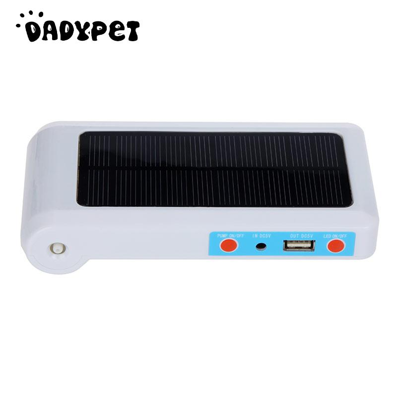 Solar Panel Oxygenator 1W 18650 Battery Quiet Safe Air Pump Fish Air Bar For Home Office Aquarium(China (Mainland))