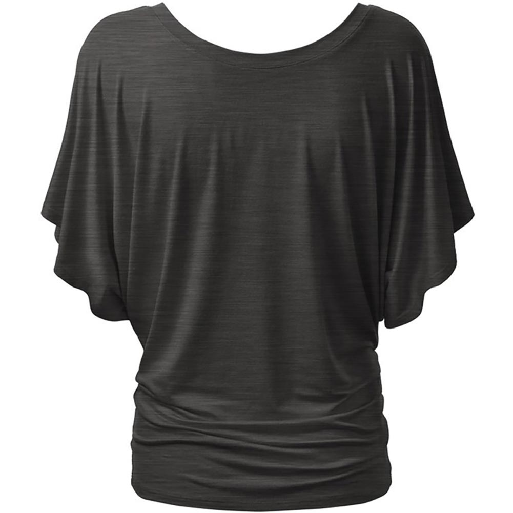 2016 New Summer Casual Women Loose Bat Sleeve Short T-shirt Slim Tops S-XL