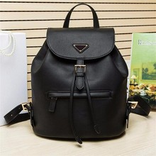 Famous Brand cowhide women backpack travel bags lady genuine leather backpack Top-handle leather school backpack free shipping(China (Mainland))