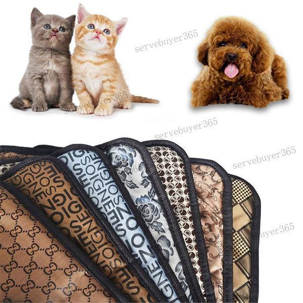 [해외]개 고양이 동물에 대한 따뜻한 전기 온수 난방 히터 패드 매..
