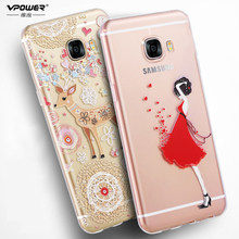 Buy Vpower samsung galaxy c5 case 3d relief galaxy c5 tpu soft transparent CASE Phone Cover samsung c5 custom made for $6.74 in AliExpress store