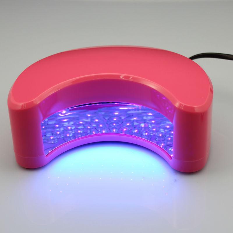 Makartt USA Stock 9W LED Lamp Nail Tools Curing Lamp for Nail Dryer Manicure Soak-off Nail Polish Spray Dryer Nail Tools USE0270(China (Mainland))