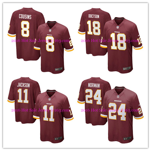 2016 NO1 Men's New arrival @1 Style Washington @1 Redskins @1 free shipping Jer Stitched logo,ship out fast(China (Mainland))