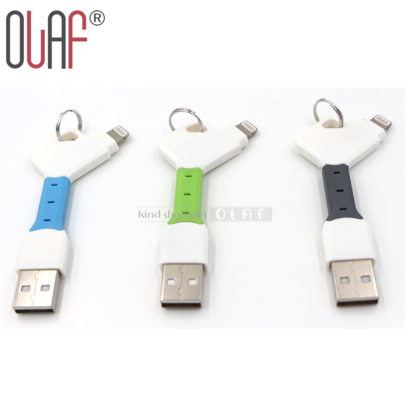 USB Sync Data Charging Charger Cable with Keychain for Sumsang S4 S5 S6 HTC Xiaomi LG Android Iphone 5 5s 6 6s 6 Plus iPad(China (Mainland))