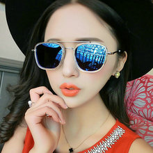 IVE Sunglasses Women Brand Designer Anti-Reflective Lens Fashion Pilot Design Female Driving Glasses Metal Frame With Case 3157