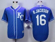 16 Bo Jackson jerseys 9 colors 2015 World Series Champions Patch Kansas City Royals cool base baseball Jersey(China (Mainland))