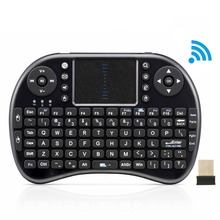 i8 Mini Wireless Keyboard Gaming Keyboard English Air Mouse USB QWERTY Keyboard Touchpad For Android TV Box PC Laptop Teclado(China (Mainland))