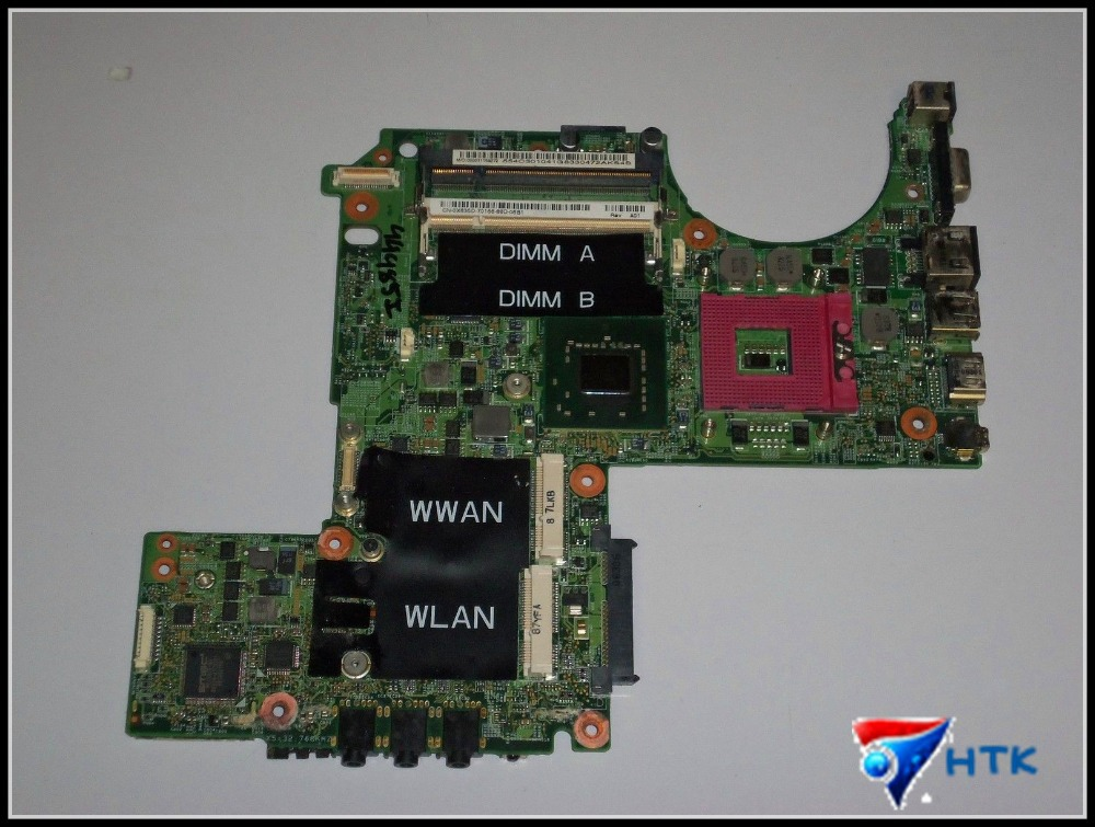 100% Original FOR Dell XPS M1330 Motherboard X635D 0X635D CN-0X635D 48.4C305.041 100% Tested OK(China (Mainland))