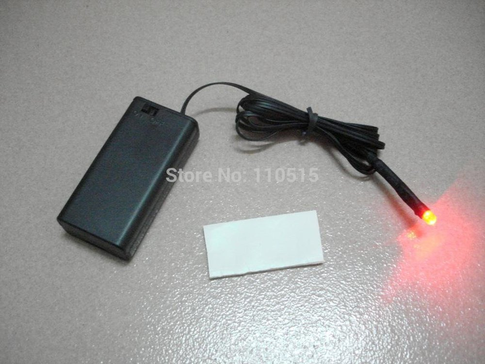 Fake Car Alarm Light Battery