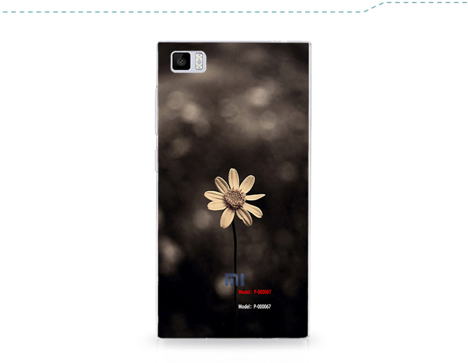 Wholesale Lowest Price In Aliexpress Matte Forsted Plain Plastic Back Cover Hard Case FOR Xiaomi 3 Mi3 M3 case Hard case+Gift(China (Mainland))
