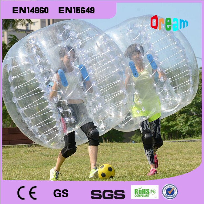 Hot Selling 1.5M 0.8MM PVC Inflatable Bubble Ball,Zorb,Bubble Soccer ,Bumper Ball,Loopy Ball,Human Hamster Ball(China (Mainland))