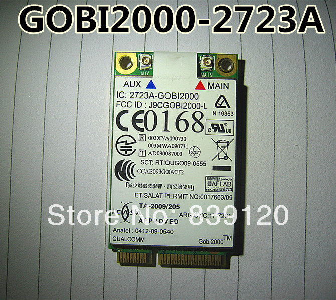 for IBM Thinkpad Lenovo Gobi2000 3G Wireless WWAN Card 60Y3183 (10128)<br><br>Aliexpress