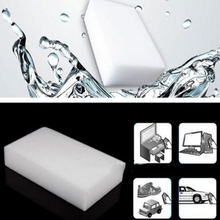 Magic Sponge 10pcs/lot 100*60*20mm New Melamine Sponge Eraser Melamine Cleaner Eco-Friendly White Kitchen Magic Eraser(China (Mainland))