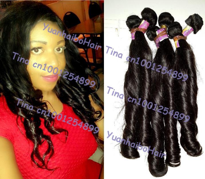 Wholesale price Grade 6A 3pcs/lot #2 bouncy wave virgin peruvian human hair weave free shipping<br><br>Aliexpress