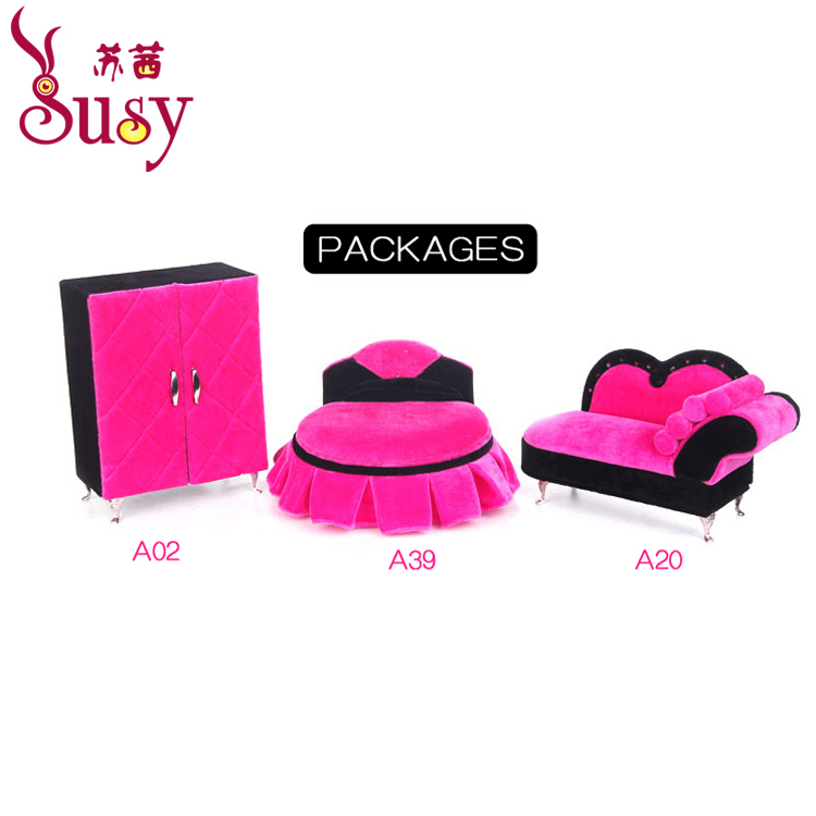 2014 Free Shipping Wholesale set pink Fashion Jewelry Show Case Organizer hair accessories container(China (Mainland))