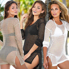 NEW! Fashion Women Swimwear Summer Beach Cover Ups Outings Crochet Bikini  Cover Up  Women Beach Wear S/M/L(China (Mainland))